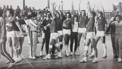 منتخب سورية بكرة اليد الفائز بذهبية الدورة العربية الخامسة بدمشق عام 1976