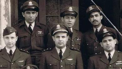 صورة بعثة سلاح الجو السوري في بريطانيا عام 1952