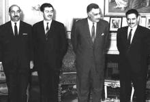 صورة جمال عبد الناصر يستقبل إبراهيم ماخوس – حزيران 1966 (1)