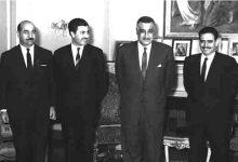 صورة جمال عبد الناصر يستقبل إبراهيم ماخوس – حزيران 1966 (3)