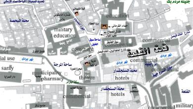 صورة دمشق – خريطة محلة سوق الخيل عام 1918