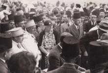 صورة حفل سباق الخيل في حلب عام 1933