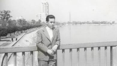 صورة فاروق بوظو على نهر النيل – القاهرة عام 1959