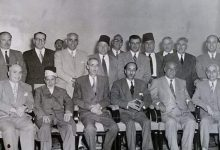 دمشق  1950 - مؤسسو شركة صناعة السكر السورية الوطنية