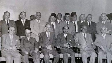 صورة دمشق  1950 – مؤسسو شركة صناعة السكر السورية الوطنية