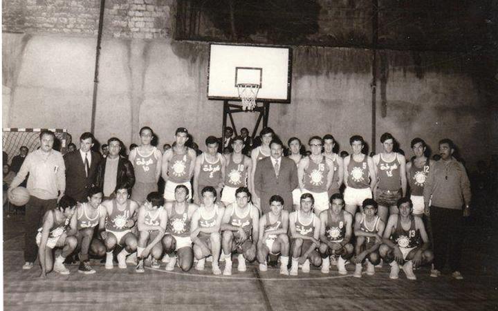 حلب 1970- فريق الغوطة بطل دمشق على أرض ملعب الشبيبة بالعزيزية