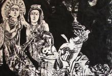 وحي تدمر .. لوحة للفنان أحمد مادون (22)
