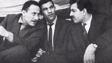 صورة عبد الكريم الجندي وإبراهيم ماخوس ونصر الشمالي عام 1966