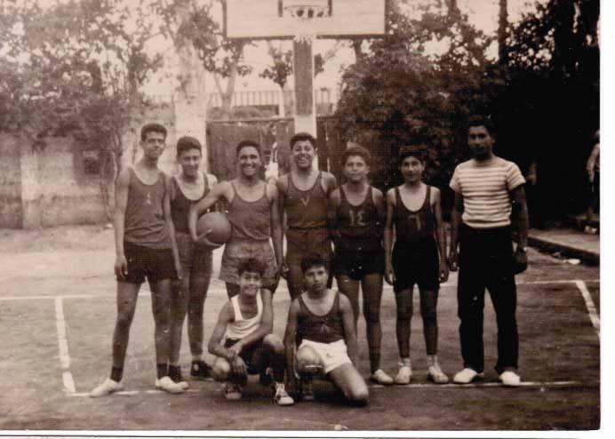 دمشق- فريق أشبال نادي الغوطة عام 1956