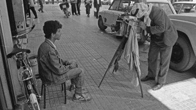 دمشق آذار 1991 - مصور فوتوغرافي (1)