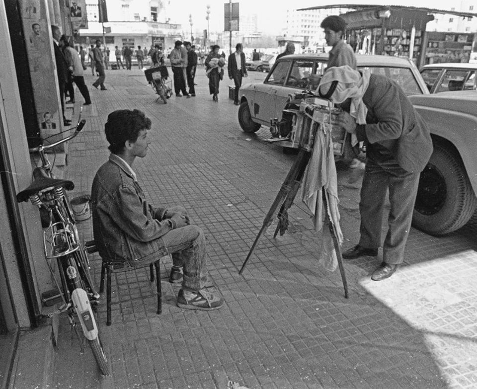 دمشق آذار 1991 - مصور فوتوغرافي (4)