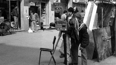 دمشق - مصور فوتوغرافي في ساحة المرجة