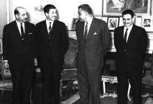 صورة جمال عبد الناصر يستقبل إبراهيم ماخوس – حزيران 1966 (2)