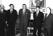 صورة جمال عبد الناصر يستقبل إبراهيم ماخوس – حزيران 1966 (7)