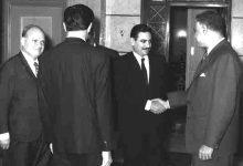 صورة جمال عبد الناصر ومحمد عيد عشاوي – حزيران 1966 (8)