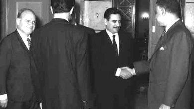 جمال عبد الناصر ومحمد عيد عشاوي - حزيران 1966 (8)