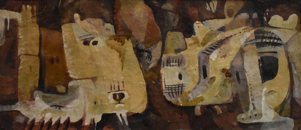 معلولا (2) - لوحة للفنان أحمد مادون (26)