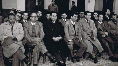 حمص 1954- حفل ضباط الاحتياط في ثكنة خالد بن الوليد