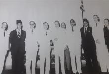 بيروت 1955- حسن جبارة في أحد اجتماعات مجلس المصالح المشتركة