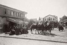 دمشق 1899 - ساحة سوق الخيل من الشمال الى الجنوب (2)