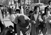 صورة دمشق 1970 –شارع النصر مقابل الإذاعة القديمة