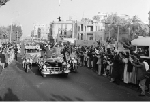 صورة القاهرة 1958 – جمال عبد الناصر وشكري القوتليعند توقيع ميثاق الوحدة (8)