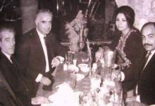 صورة أكرم الحوراني وعبد الستار الدوري في بيروت