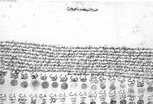 صورة من الأرشيف العثماني 1877 -كتاب شكر من أهالي حمص إلى السلطان عبد الحميد الثاني