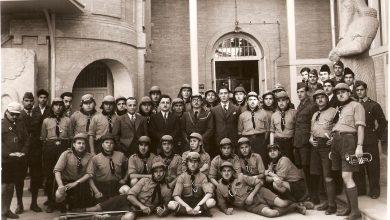 كشاف سورية ووفد الكشاف العربي في زيارة إلى العراق عام 1937 (2)