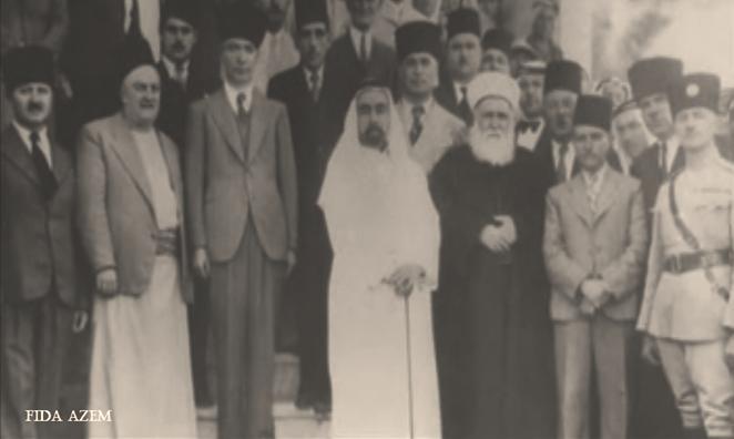 محمد صبري توفيق الطباع .. رئيس الجالية الدمشقية في عمان