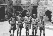 صورة فرقة الكشافة في مدرسة البيروني – قلعة أرواد عام  1965