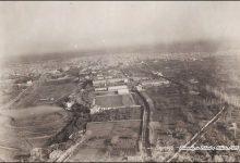دمشق 1925 - صورة جوية لأطراف المدينة