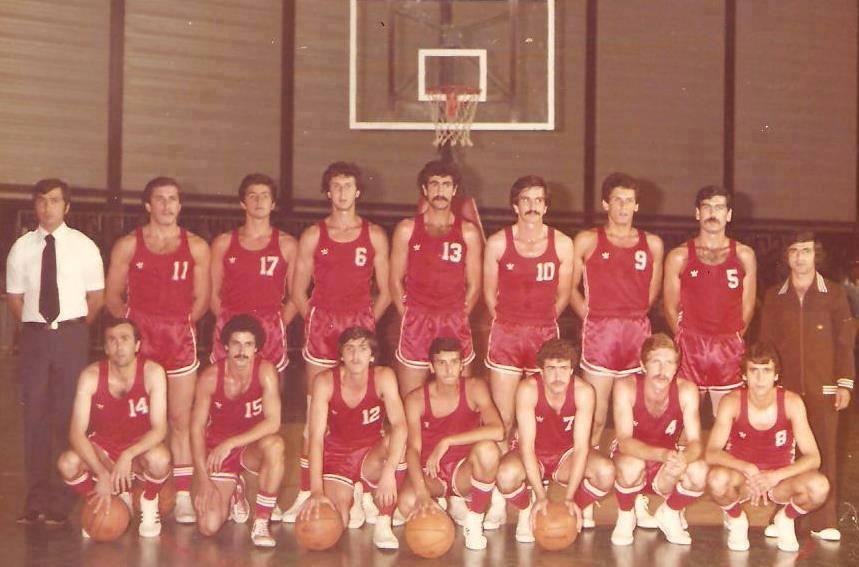 الفريق السوري في بطولة العالم العسكرية بدمشق عام 1978
