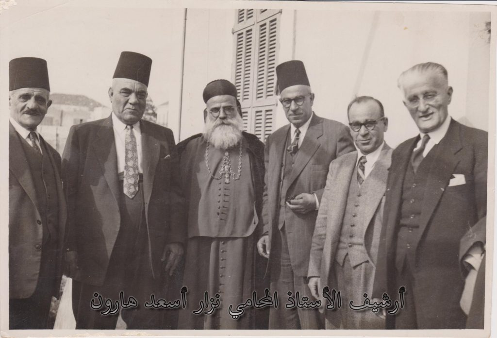 استقبالُ مطران طرابلس الماروني في أثناء زيارته لمدينة اللاذقية