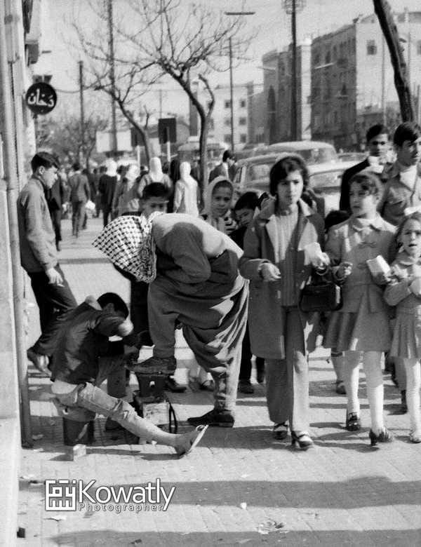 دمشق 1970 -شارع النصر مقابل الإذاعة القديمة