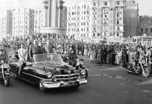 صورة القاهرة 1958 – جمال عبد الناصر وشكري القوتليعند توقيع ميثاق الوحدة (13)