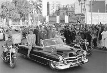 صورة القاهرة 1958 – جمال عبد الناصر وشكري القوتليعند توقيع ميثاق الوحدة (12)