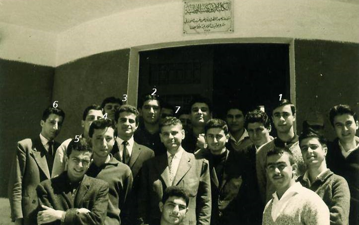 اللاذقية 1963- من أمام مدرسة الكلية الأرثوذكسية الوطنية