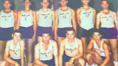 صورة دمشق 1958 – فريق نادي الغوطة