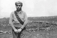 عبد السلام العجيلي على أرض فلسطين عام 1948