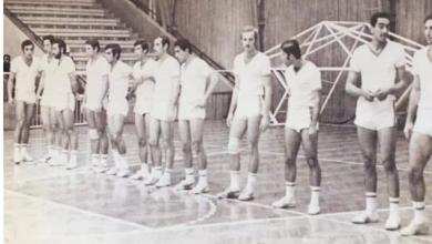 صورة أزمير 1971- منتخب سورية في ألعاب المتوسط – كرة الطائرة