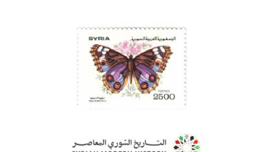 صورة طوابع سورية 1993 –  الفراشات