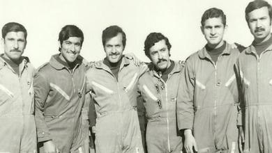 صورة طيارون من السرب 67 بالضمير في حرب 1973