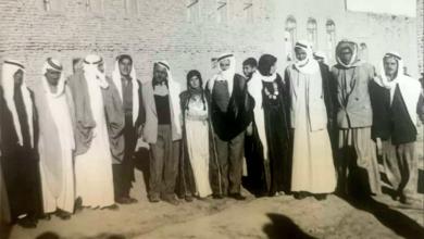 صورة الرقة 1954- من حفل زفاف فيصل حداد علوش العجيلي