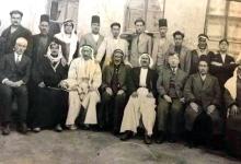 صورة بعض أبناء مدينة الرقة أرمن وعرب في بداية ثلاثينات القرن العشرين