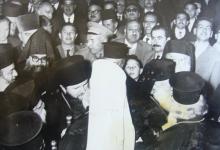 صورة من زيارة البطريرك البلغاري إلى دمشق – مطار المزة عام 1962