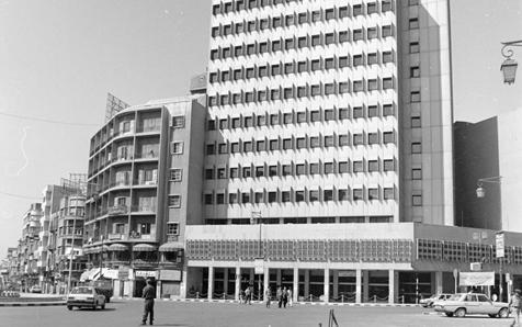 صورة المصرف التجاري السوري – الادارة العامة -دمشق عام 1993