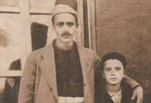 صورة الشيخ نجيب الخش وولده سليمان ..