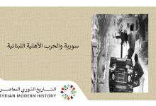 صورة سورية والحرب الأهلية اللبنانية