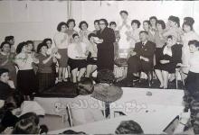 صورة طالبات مدرسة التمريض بدمشق عام 1962